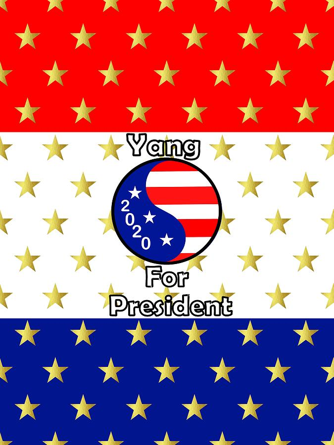 Yang For President by Kathleen Sartoris