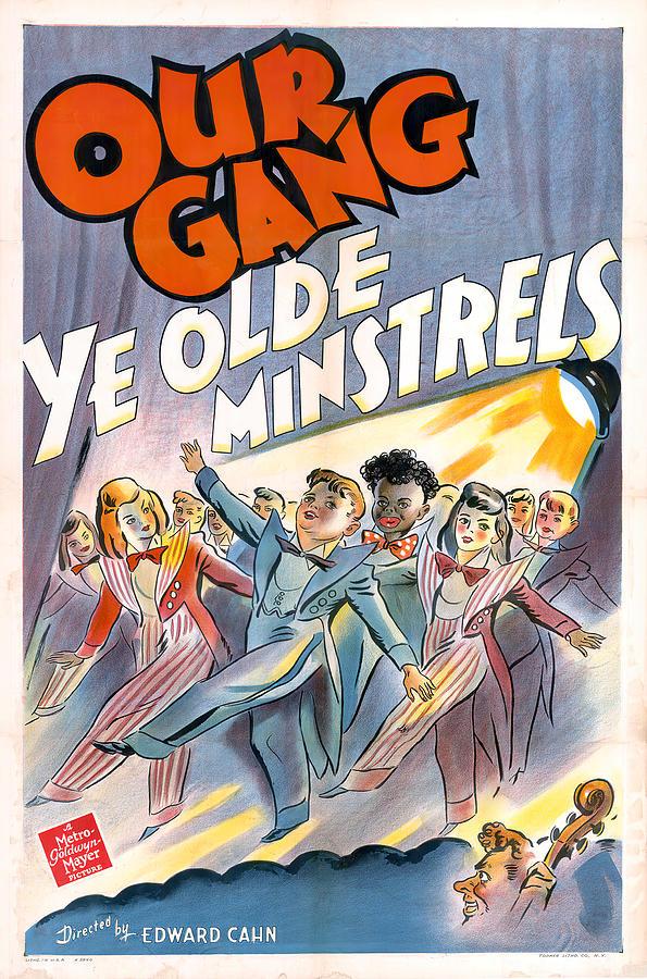 ye Olde Minstrels, 1941 Mixed Media
