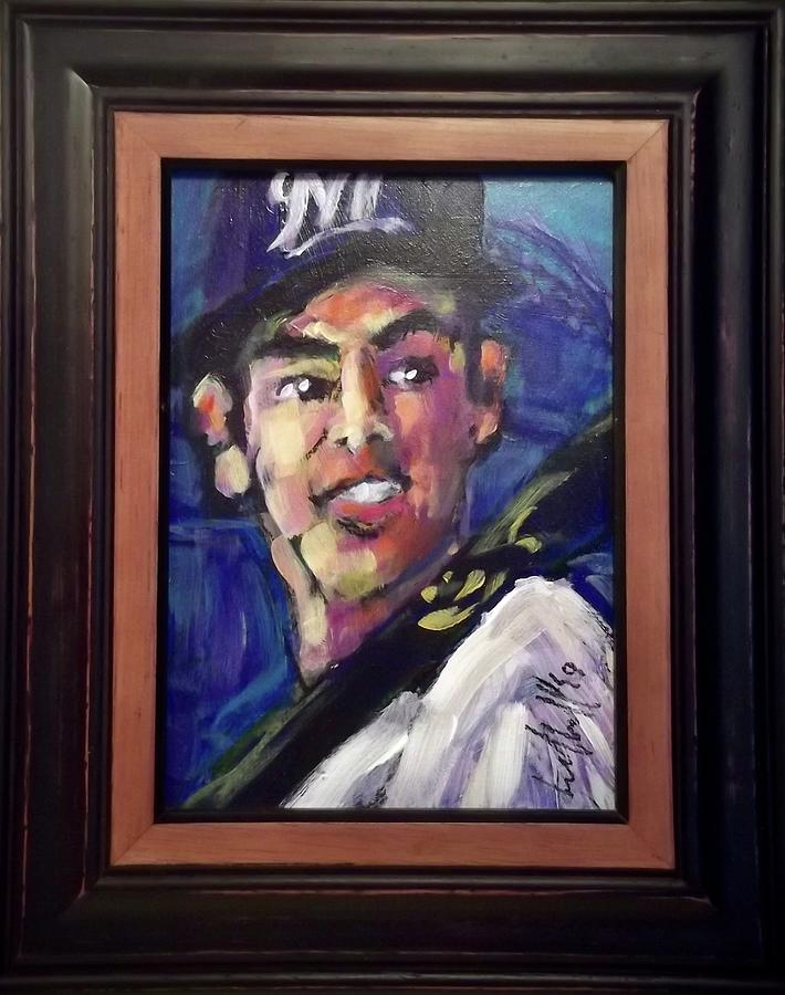 Yelich by Les Leffingwell