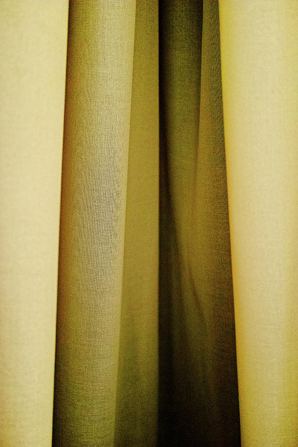 Yellow Curtains Photograph by Stephen Russell Shilling