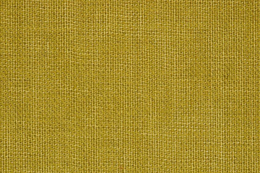 Yellow Linen Texture Closeup Photo Background. Photograph