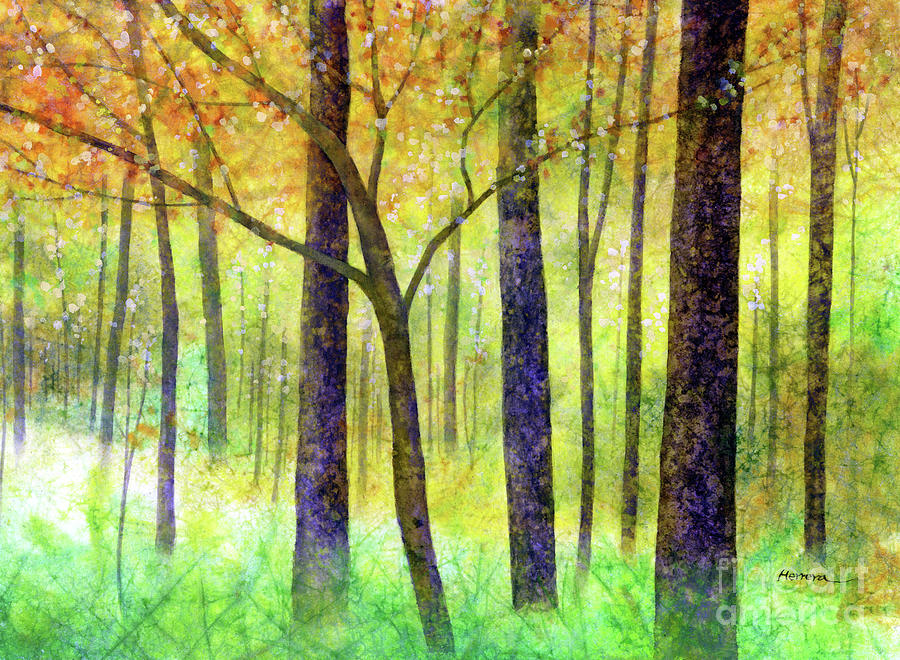 Yellow Mood-pastel Colors Painting