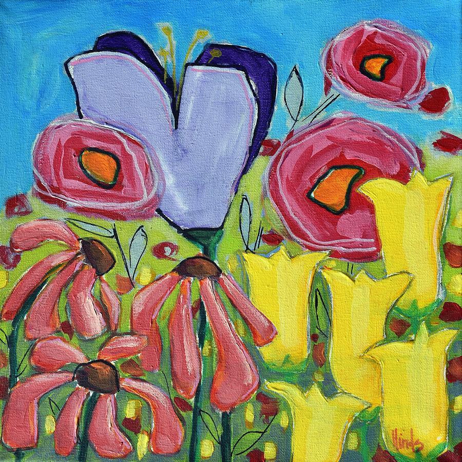 Yellow Tulips Painting