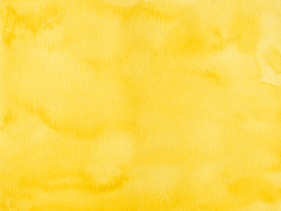 Yellow watercolor texture background Photograph by Flavio Coelho