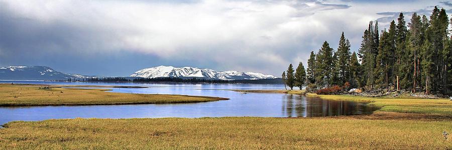 Yellowstone Lake Photograph