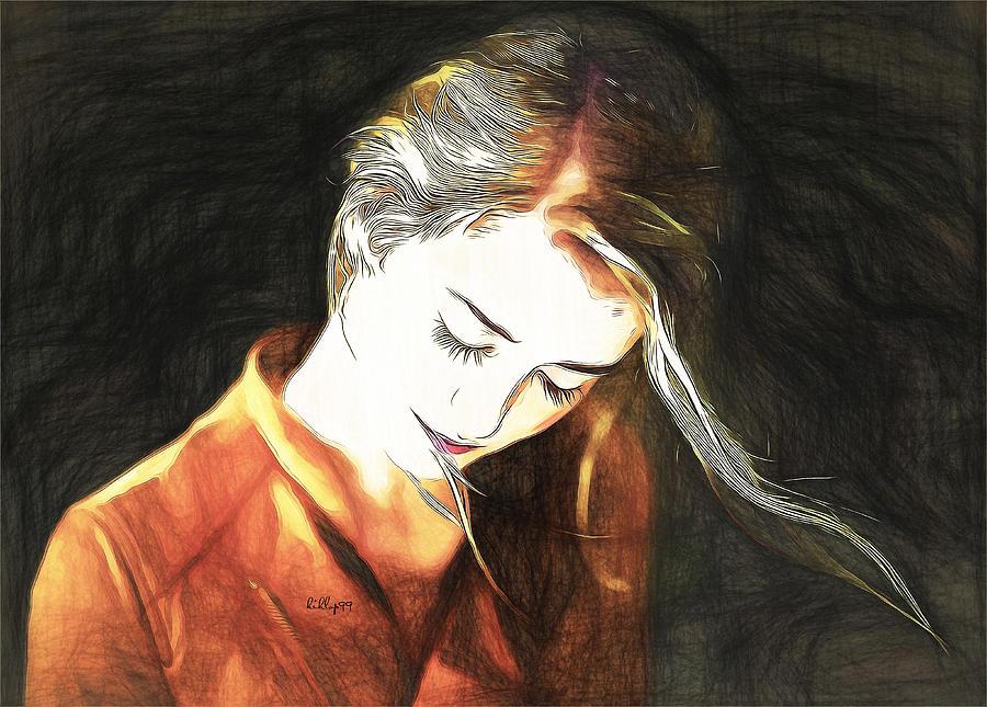 Jeny Draw Mixed Media