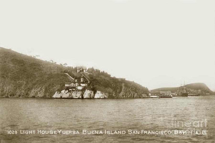 Yerba Buena Island, San Francisco Bay, Naval Training Station by California Views Archives Mr Pat Hathaway Archives
