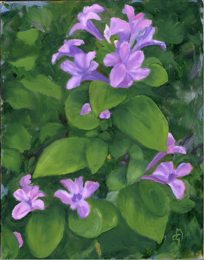Floral Painting - Yesterday Today And Tomorrow by Diane Martens