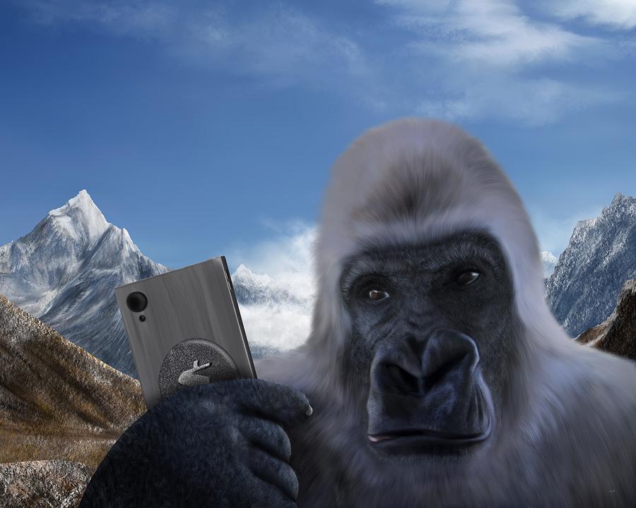 Yeti Selfie by Mark Taylor