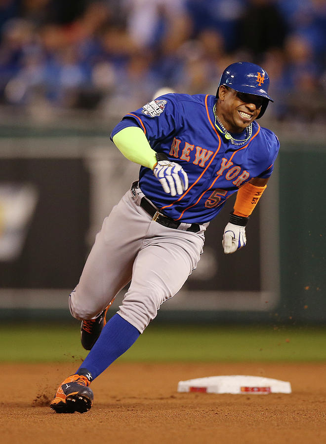 Yoenis Cespedes Photograph by Brad Mangin