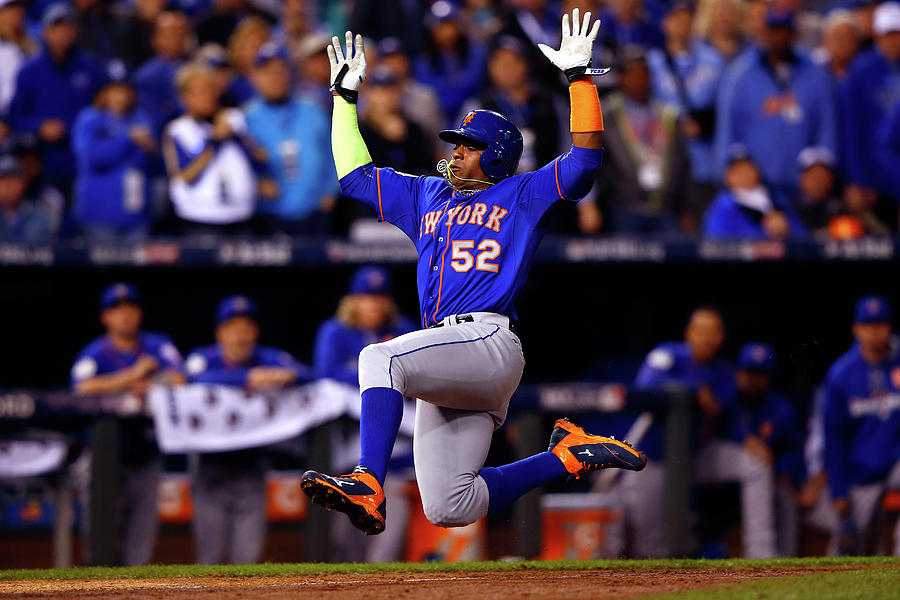 Yoenis Cespedes Photograph by Jamie Squire