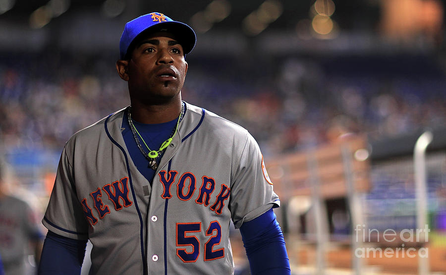 Yoenis Cespedes Photograph by Mike Ehrmann