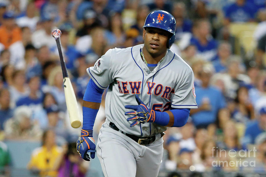 Yoenis Cespedes Photograph by Sean M. Haffey