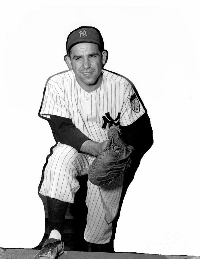 Yogi Berra Photograph by Kidwiler Collection