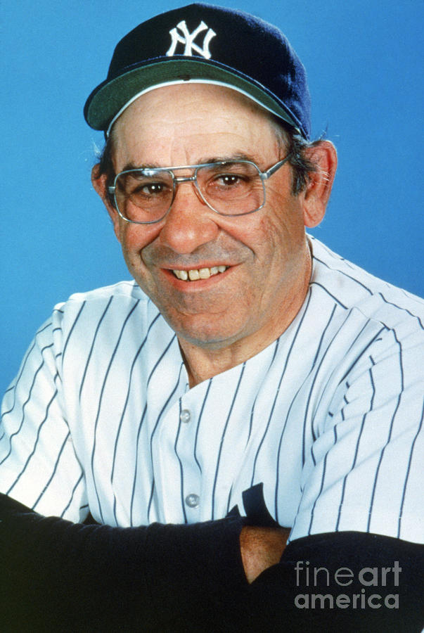 Yogi Berra Photograph by Mlb Photos