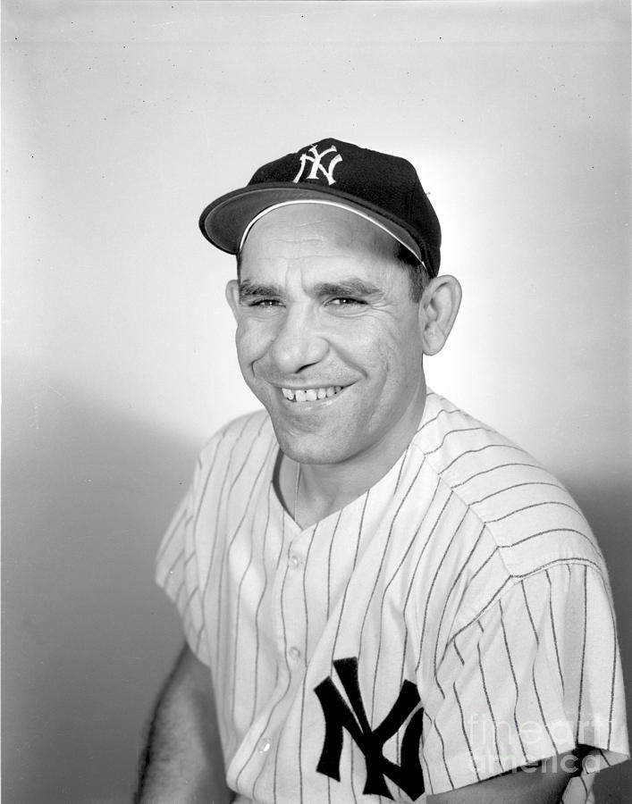 Yogi Berra Photograph by Olen Collection