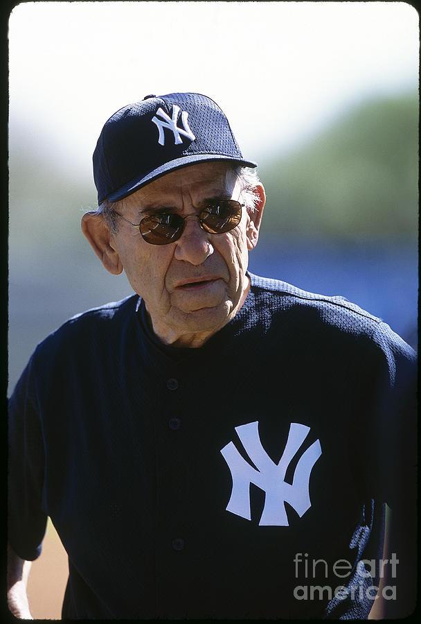 Yogi Berra Photograph by Rich Pilling
