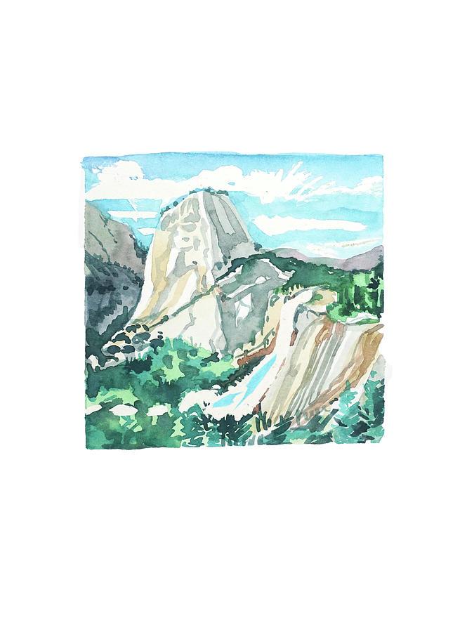 Yosemite Day Painting