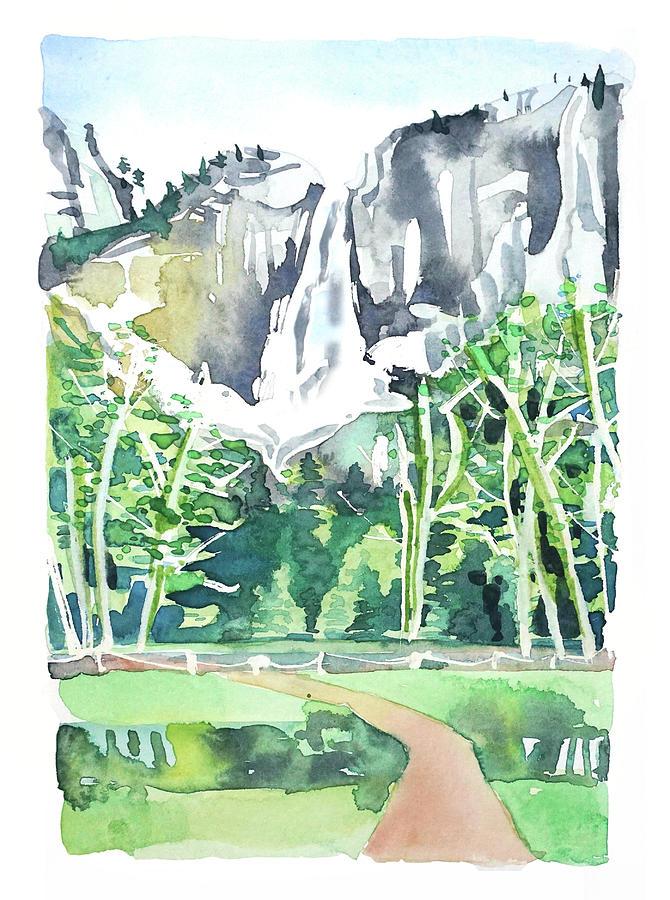 Yosemite Falls #3 Painting