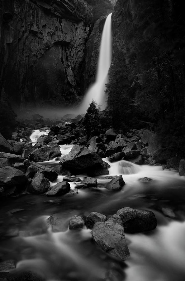 Yosemite Falls Photograph