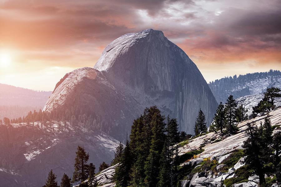 Yosemite Half Dome by Mike Gifford