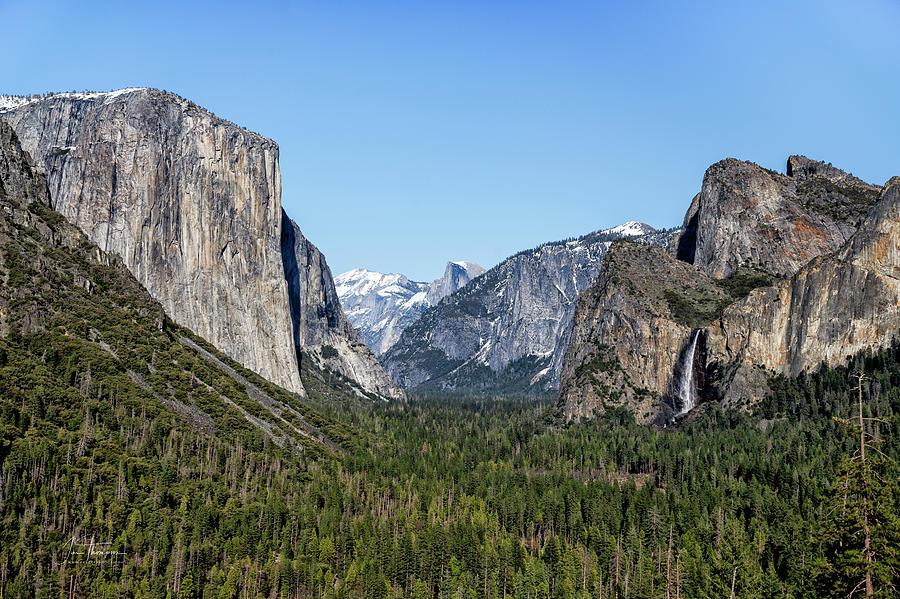 California Photograph - Yosemite Valley 1 by Jim Thompson