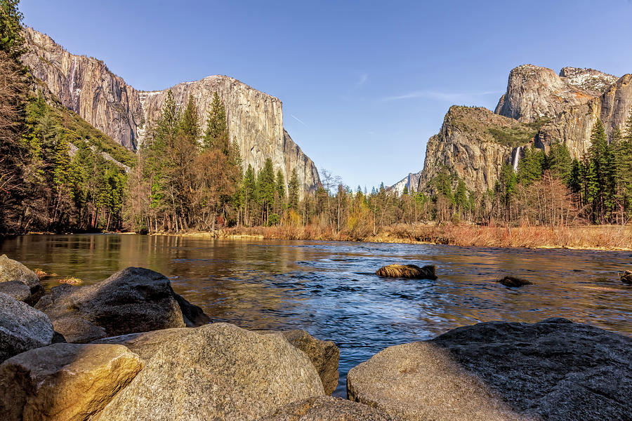 Yosemite Valley View Photograph