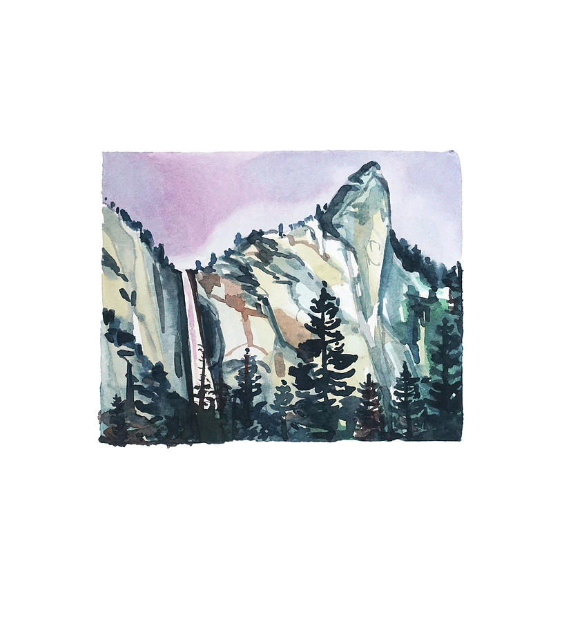 Yosmite Fall #2 Painting