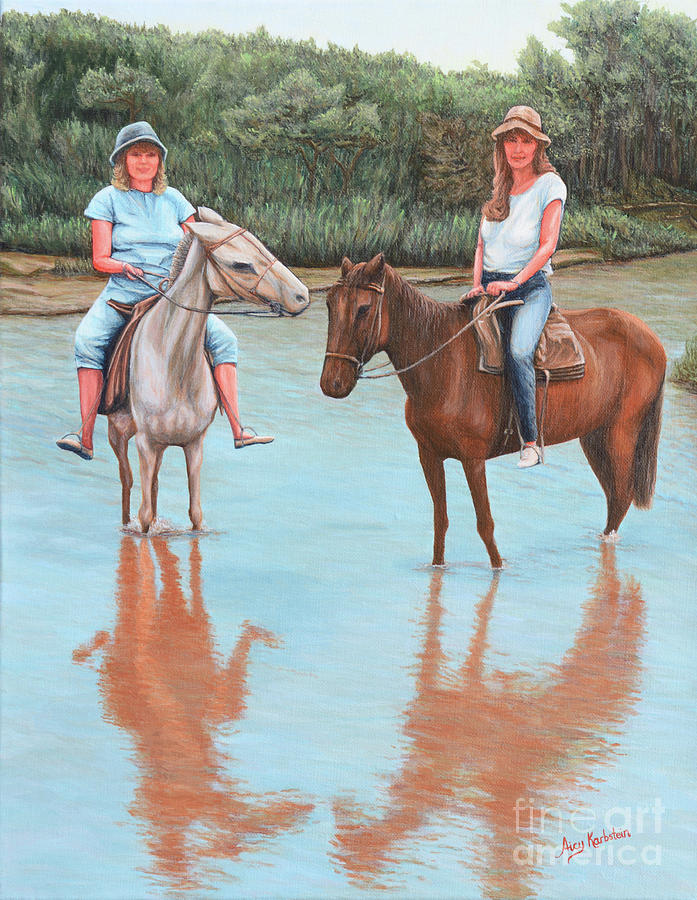 You and I on Horseback by Aicy Karbstein