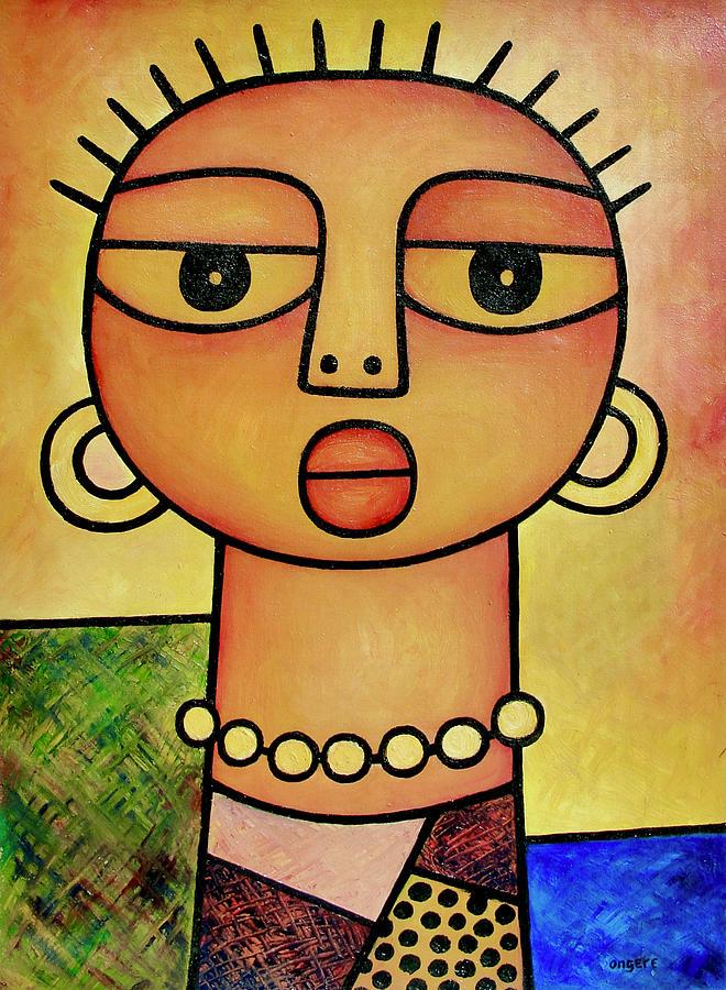 Young Girl by Elisha Ongere