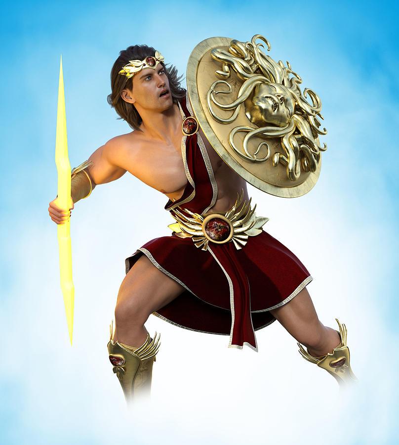 Young Zeus God Of Greek Mythology 1 Digital Art