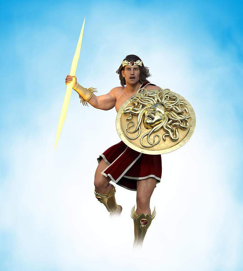Young Zeus God Of Greek Mythology 7 Digital Art