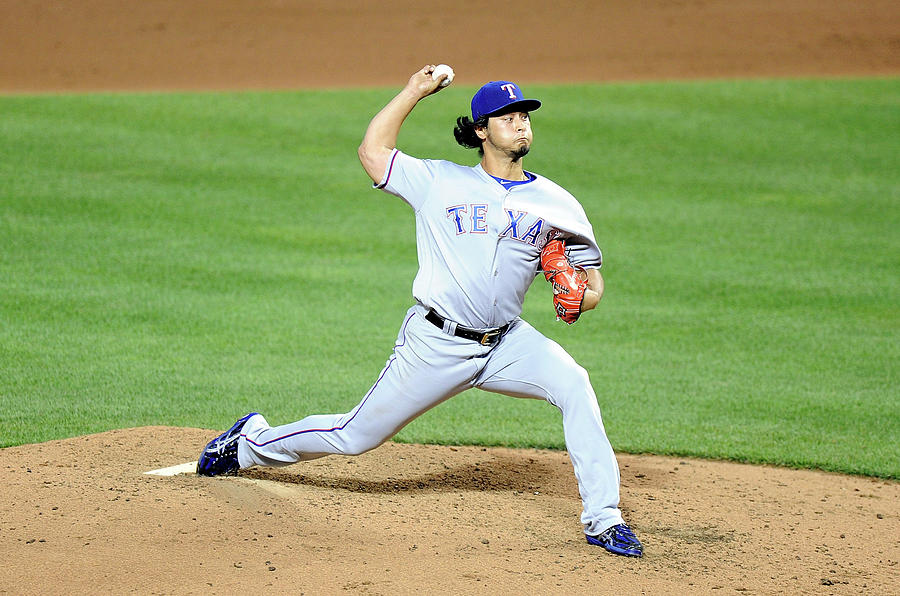 Yu Darvish Photograph by G Fiume