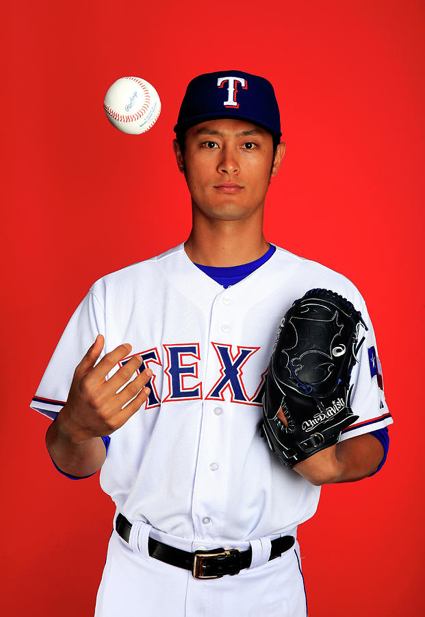 Yu Darvish Photograph by Jamie Squire
