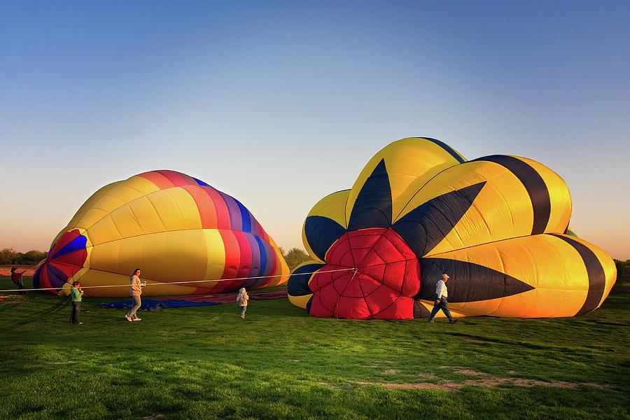Arizona Photograph - Yuma Balloon Festival 112.jpg by Jack and Darnell Est