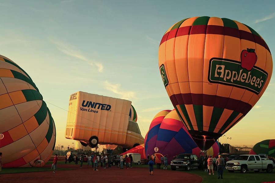 Arizona Photograph - Yuma Balloon Festival Glow-159.jpg by Jack and Darnell Est