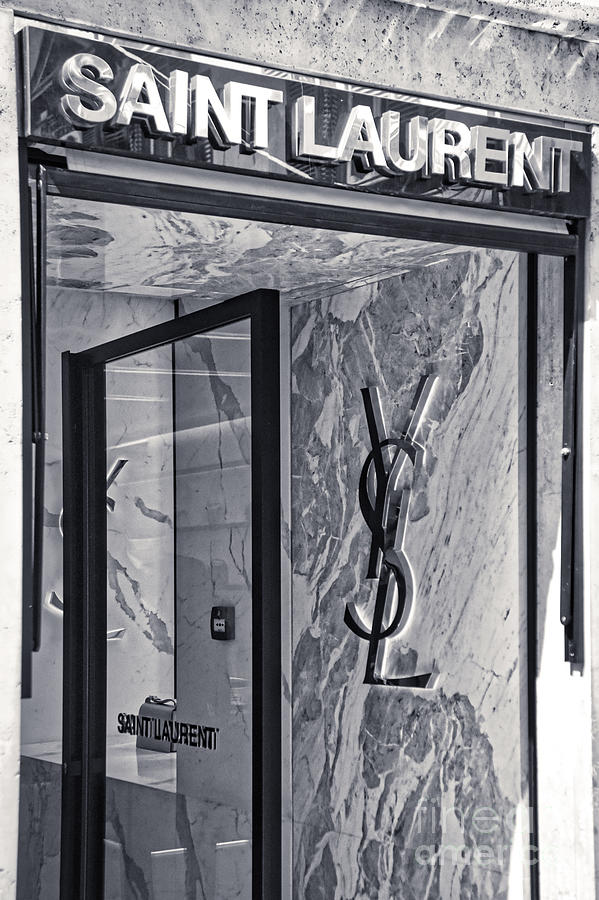 Ysl Photograph - Yves Saint Laurent store  by Stefano Senise