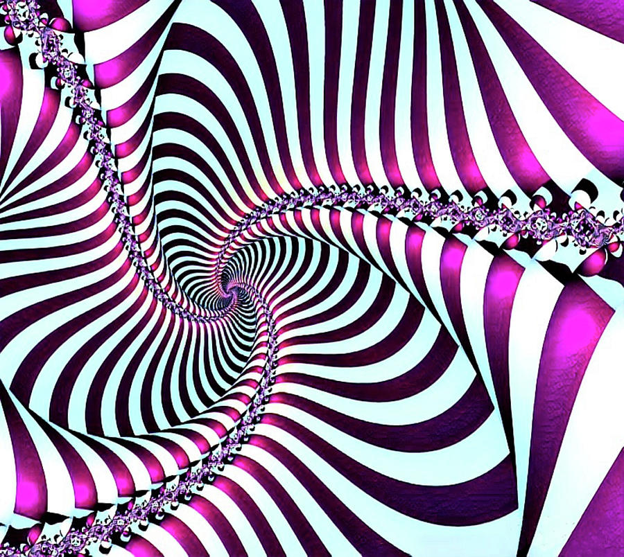Z-spiral Digital Art
