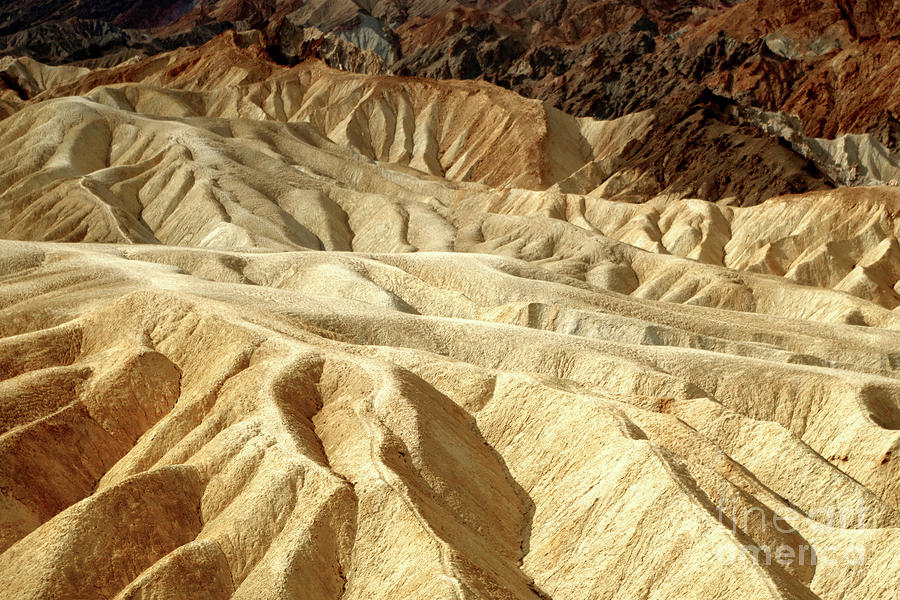 ZABRISKIE POINT, ABSTRACT LANDSCAPE by Douglas Taylor