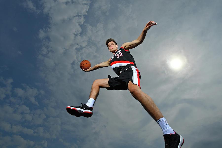 Zach Collins Photograph by Jesse D. Garrabrant