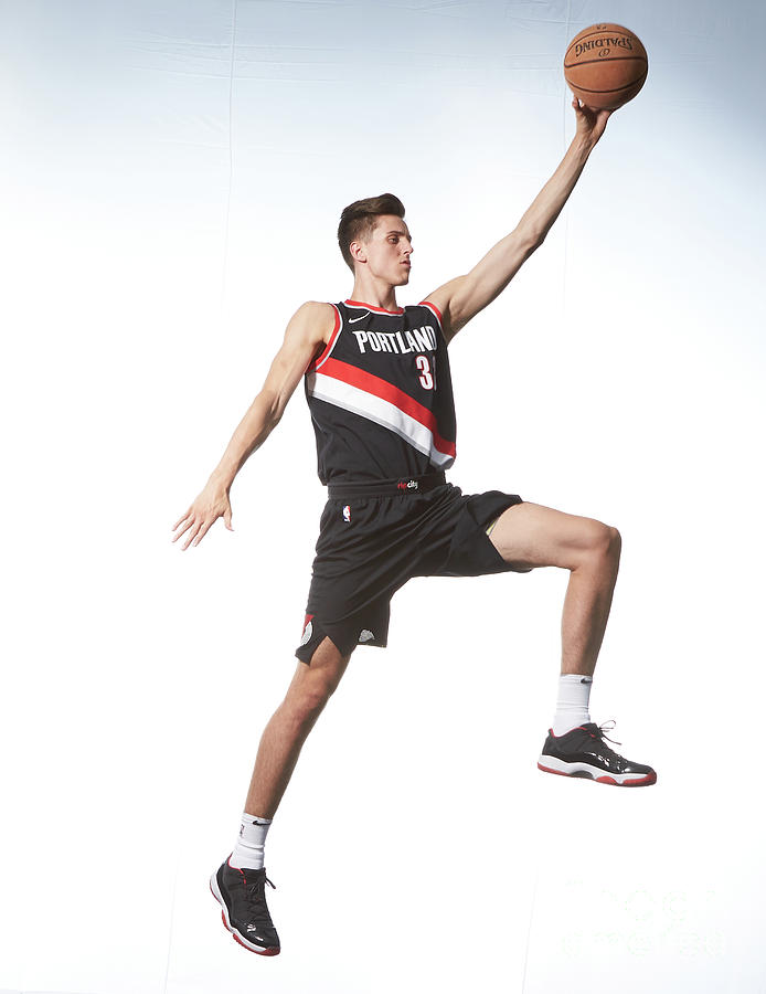 Zach Collins Photograph by Nathaniel S. Butler