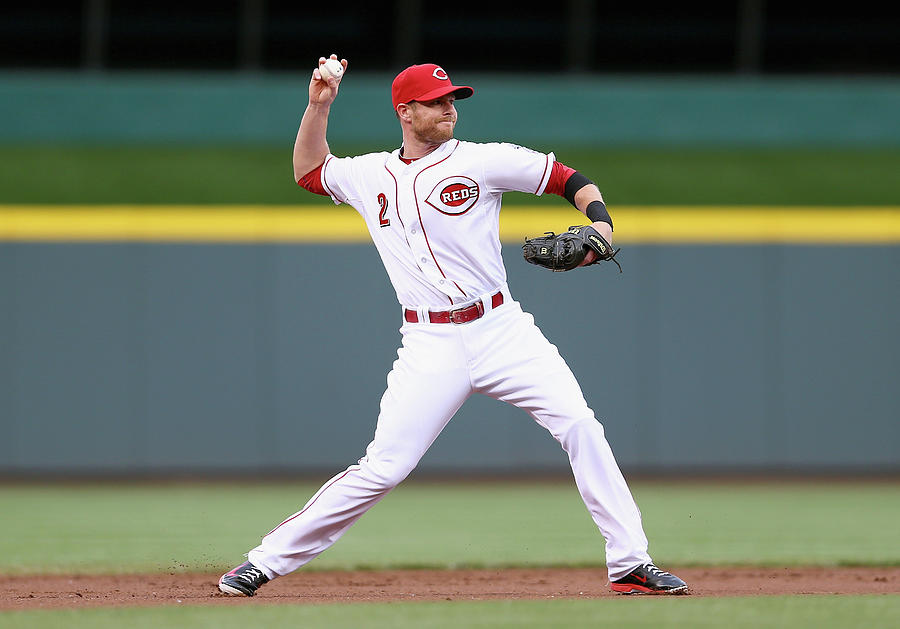 Zack Cozart Photograph by Andy Lyons