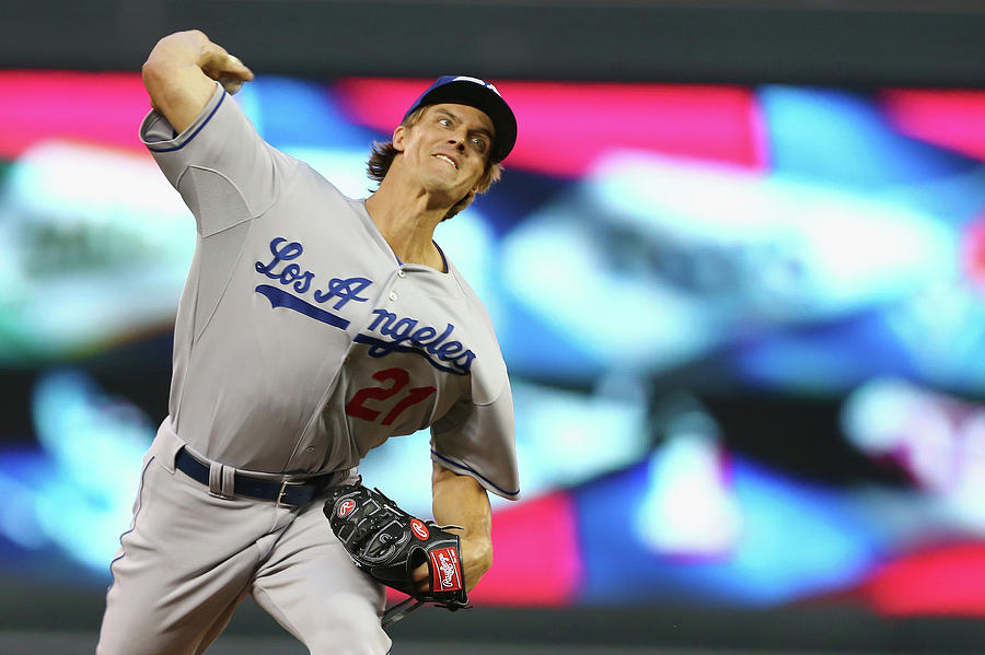 Zack Greinke Photograph by Elsa