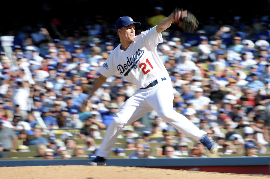 Zack Greinke Photograph by Harry How