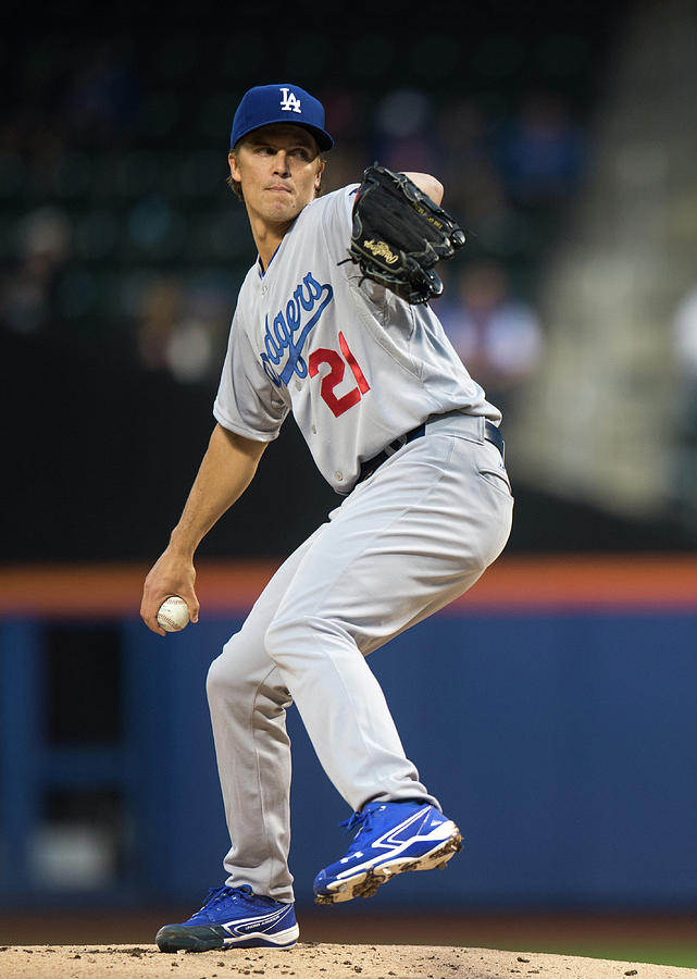 Zack Greinke Photograph by Ron Antonelli