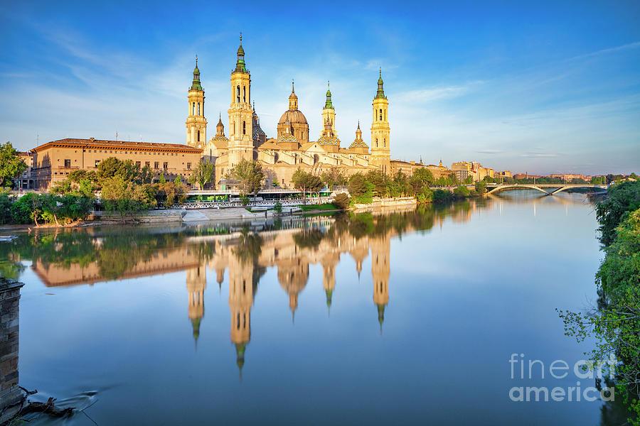 Zaragoza Dawn Photograph