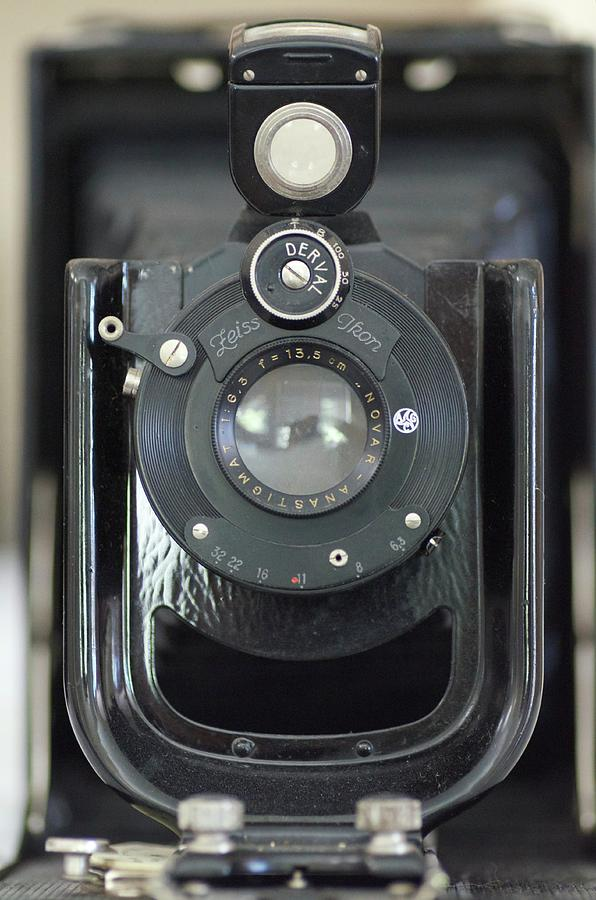 Camera Photograph - Zeiss Ikon by Robin Mayoff