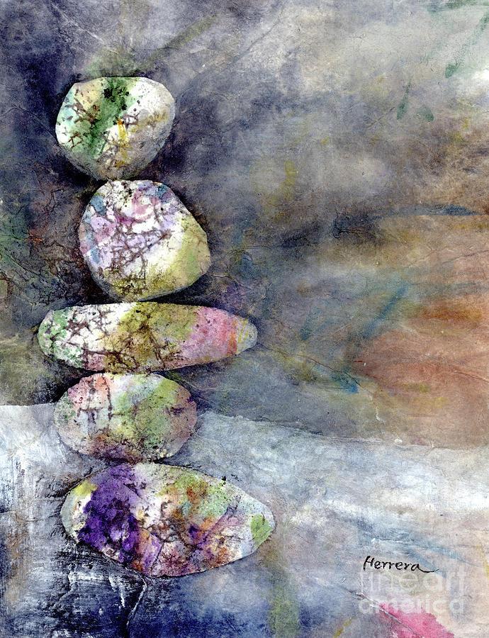 Zen Balance-white Painting