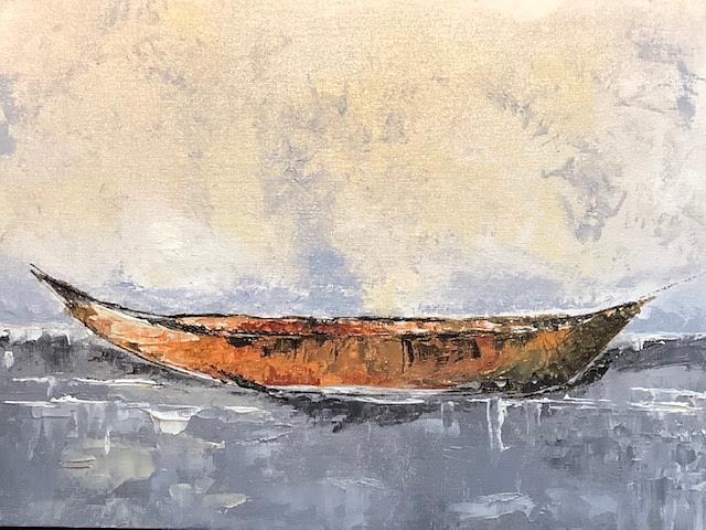 Zen Boat by Donna Joy Cavaliere