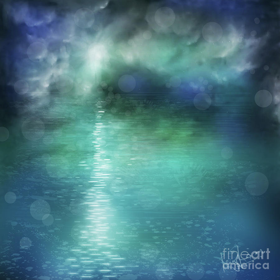 Sea Of Serenity Painting - Zen Sea by Remy Francis
